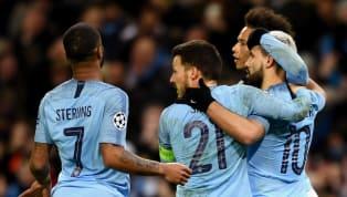 ManCity Your City line-up for tonight… XI | Ederson, Zinchenko, Stones, Laporte, Danilo, Fernandinho (C), Foden, De Bruyne, Sane, Mahrez, G Jesus. SUBS |...
