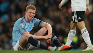 Kevin de Bruyne's recovery from his most recent injury is progressing better than expected, with a return looking likely for City's Premier Leaguedouble...