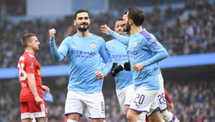 tory ​Manchester City progressed to the fifth round of the FA Cup on Sunday afternoon, with a comfortable 4-0 win over 10-man Fulham.  The hosts took the lead...