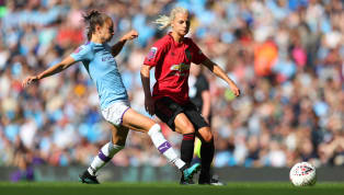 erby Manchester City were victorious in the first WSL Manchester derby as they ran out 1-0 winners over Manchester United on Saturday. United started the game...