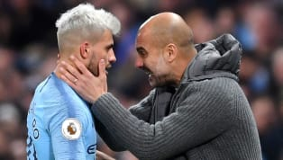 Manchester City boss Pep Guardiola has heaped praise on forward Sergio Aguero for his attitude in big games. The Argentine has six goals in his last five...