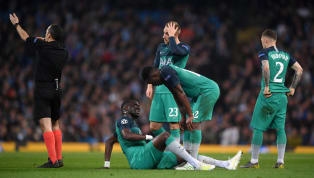 Moussa Sissoko hobbled off with a suspected muscle injury during Tottenham's Champions League quarter final tie against Manchester City on Wednesday night....