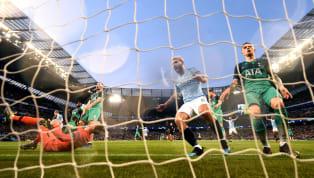 El Kun anota al 59' y El Manchester City vence 4-2 al Tottenham (4-3 global) y se mete momentaneamente a semis de la Champions. مان سيتي ٤ - ٢ توتنهام د٥٩...