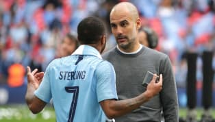 ​Manchester City manager Pep Guardiola has stressed that Raheem Sterling can't start believing his own hype after the England international was compared to...