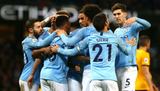 rers Manchester City reduced the gap between themselves and Premier League leaders Liverpool to four points thanks to a straightforward win over a gritty ten...