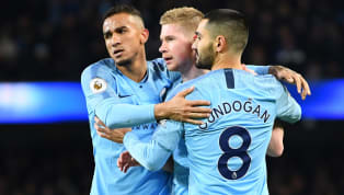 Manchester City recorded a comfortable 3-0 win over 10-man Wolverhampton Wanderers to cut the gap at the top of the Premier League table to just four points....