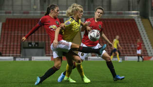 Manchester United Women probably would have preferred to avoid facing both the reigning champions and the double domestic cup winners in their first ever...