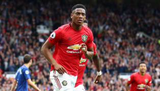 Manchester United forward Anthony Martial netted his team's crucial second goal during Sunday afternoon's crushing 4-0 Premier League win over Chelsea on...