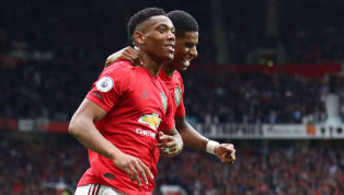ces' ​Manchester United forward Anthony Martial has revealed how competing with Marcus Rashford to score goals in training is helping both of them become...