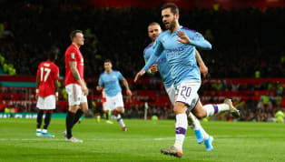 Rout ​Manchester City already have one foot in the Carabao Cup final after a 3-1 win against Manchester United at Old Trafford, where Bernardo Silva scored the...