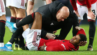 ​Manchester United forward Marcus Rashford has been tipped to play through the pain to ensure that he is available for the huge trip to Anfield to face...
