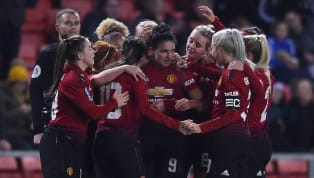 ​Manchester United used one of their games in hand this weekend to close the gap to Women's Championship leaders Tottenham to just two points, hammering...