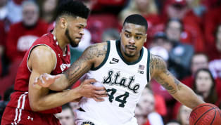 ​An already-undermanned ​Michigan State team now faces another challenge on the injury front. Spartans big man Nick Ward, who left Sunday's game against Ohio...