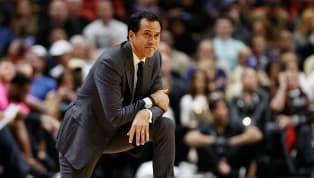 El entrenador delMiami HeatErik Spoelstra llegó a 500 victorias en su carrera de la NBA luego de que su equipo venciera 115-91 alOrlando Magicen la...