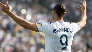 Durante la presentación de la segunda equipación que usará Los Angeles Galaxy para la próxima temporada en la MLS,Zlatan Ibrahimovic, famoso futbolista...