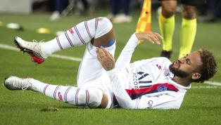 Chahuté toute la rencontre, Neymar a été victime d'une très grosse faute de la part de Chotard, qui a pratiquement étranglé la star brésilienne du PSG....
