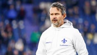 Nächste Trainerentlassung in derZweiten Liga:Darmstadt 98trennt sichvon TrainerDirk Schuster und seinen Assistenten Sascha Franz und Frank Steinmetz....