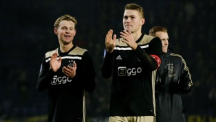 Frenkie de Jong & Matthijs de Ligt 'Waiting' for Barcelona as €140m Duo 'Prioritise' Camp Nou