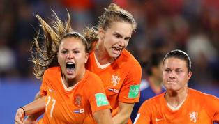 ทีมฟุตบอลหญิงเนเธอร์แลนด์ กรุยทางสู่รอบ 8 ทีมสุดท้ายฟุตบอลโลกหญิงได้สำเร็จเป็นครั้งแรกในประวัติศาสตร์หลังเอาชนะ ทีมชาติญี่ปุ่น 2-1...