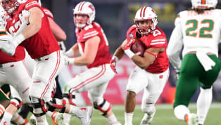 The Pinstripe Bowl between the Miami Hurricanes and Wisconsin Badgers was played today, and unless you're a big Badgers fan, you probably didn't watch this...