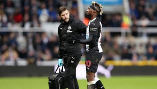 Newcastle have been dealt a huge injury blow as in-form winger Allan Saint-Maximin left St James' Park on crutches on Sunday following his side's 2-1 victory...