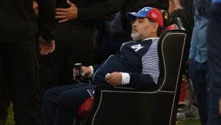 Diego Maradona a encore vécu une soirée digne du dieu qu'il est dans son pays. Diego Maradona, même amoindri, reste un dieu dans son pays. De retour sur le...