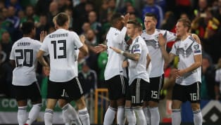 Win Marcel Halstenberg's stunning volley at the start of the second half helped Germany claim a 2-0 victory over a courageous Northern Ireland in Belfast. The...