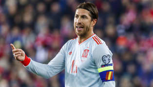 ​Real Madrid defender Sergio Ramos has now become the most-capped player in the history of the Spanish national team, after making his 168th appearance...