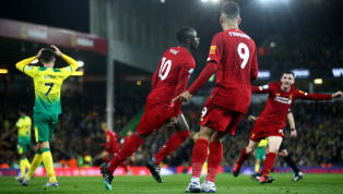 ough Liverpool went 25 points clear at the top of the Premier League on Saturday evening as they beat Norwich City 1-0 at Carrow Road. Norwich had a golden...