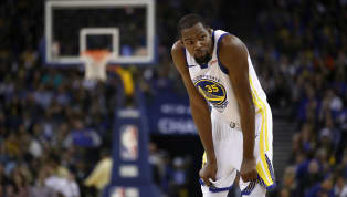 Star forward Kevin Durant won't be out on that Chesapeake Energy Arena floor when the Warriors take on the Thunder in OKC Saturday night. Per Anthony Slater...