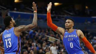 La NBA culminó su jornada del lunes y son varios los resultados a destacar. Paul Georgetuvo una soberbia actuación de 47 puntos, 12 rebotes y 10 asistencias...