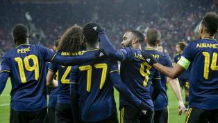 Arsenal có chiến thắng tối thiểu trước Olympiacos trong khi Manchester United vất vả thủ hòa Club Brugge ở loạt trận C2. Kết quả loạt trận vòng 32 đội cupC2...