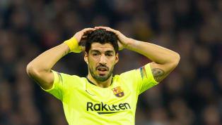 Với việc 'tịt ngòi' tại sân của Lyon trong trận cầu lượt đirạng sáng 20/2, Luis Suarez đã trải qua hơn ba năm chưa biết đến mùi bàn thắng ở sân khách ở đấu...