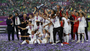 Lyon Feminin produced an emphatic display to overcome Barcelona Femeni with a comfortable 4-1 victory in the Women's Champions League final on Saturday. The...