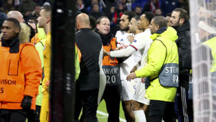 ​Memphis Depay clashed with Lyon fans after they held up a donkey banner aimed at Marcelo after their ​Champions League game with RB Leipzig. Depay scored an...