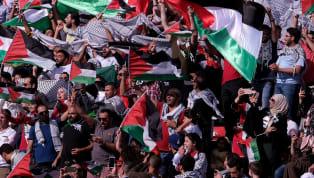 Pour sa deuxième participation à la Coupe d'Asie des Nations de football, l'équipe palestinienne se retrouve dans le groupe de la Syrie, de la Jordanie, et...