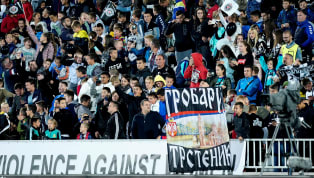 "Partizan Belgrade hooligan group's leader Ljubomir Markovic who once featured on ""Real Football Factories"" has been shot dead as hundreds of the Serbian..."