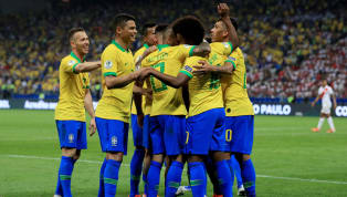 Tournament hosts Brazil finally turned on the style when they demolished Peru in a 5-0 win to finish top of the table in Group A. The loss means Peru finish...