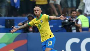 Tuyển Brazil có bàn mở tỉ số ngay phút thứ 15 của trận chung kết Copa America do công của Everton, nhưng Gabriel Jesus mới đáng khen với một pha xử lý và...