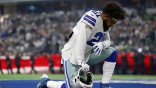 Ezekiel Elliott Fined Ridiculous Amount for Lowering His Head and Playing Football