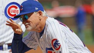 El manager de losCachorros de Chicago,Joe Maddon, considera que laMLBdebe rediseñar el logo e incluir la silueta del jardinero Mike Trout. El...