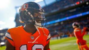 El wide receiver de losDenver BroncosEmmanuel Sanderssufrió un desgarro en el talón de Aquiles durante los entrenamientos del equipo, informó Adam...