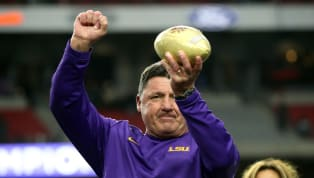 LSU fans, it's time to get the party started. Your absolute unit of a football coach is going anywhere anytime soon. Early Wednesday morning it was announced...