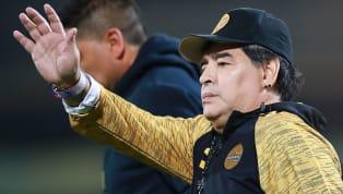 El nombre de Diego Armando Maradona había sonado fuerte en los últimos días en el entorno del Huracán, equipo que no pasa su mejor momento tanto por lo que...