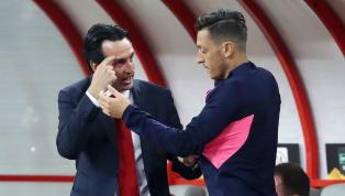 """Trong buổi họp báo trước trận gặp BATE Borisov vào ngày 22/02, HLV Unai Emery đã có những lời bình luận về cơ hội thi đấu của Mesut Ozil. 💬 """"The key is his..."""