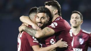 Riveraplastó aRacingy lo venció por 6 a 1 en Avellaneda. Rafael Santos Borré en dos ocasiones, Matías Suárez, Nacho Fernández, Nicolás De La Cruz y...