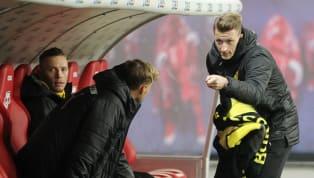 Borussia Dortmundmusste zum Rückrunden-Auftakt überraschenderweise auf Marco Reus verzichten, der kurzfristig verletzungsbedingt aus dem Kader gestrichen...