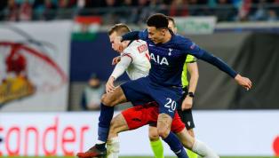 Tottenham Hotspurharus pulang dengan tangan hampa dan mengakhiri perjalanannya di kompetisiLiga Championssaat takluk 0-3 dari RB Leipzig di leg kedua...