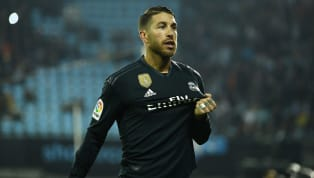 El defensa delReal Madridno pudo disputar el partido ante el Valladolid al estar sancionado pero no quiso perderse la actuación de su equipo en el Nuevo...