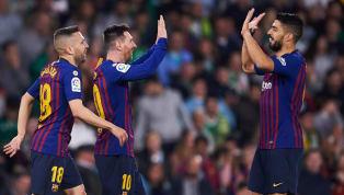Barcelona đã phải trả giá cho chiến thắng trước Real Betis rạng sáng 18.3 bằng chấn thương của Luis Suarez. Xem thêm tin Barcelona tại đây Messi cảm ơn cổ...